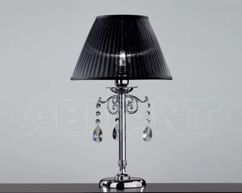 Купить Лампа настольная Cremasco Illuminazione snc Opere Di Luce 4091/1LA-CR-TR-NE
