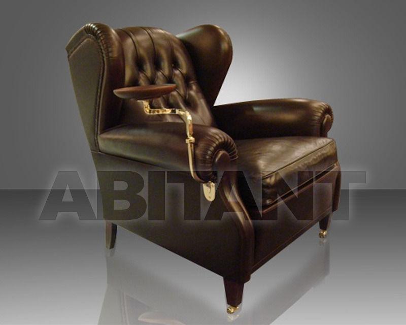 Кресло 1919 коричневое Poltrona Frau 5145111 3 , каталог мягкой ...