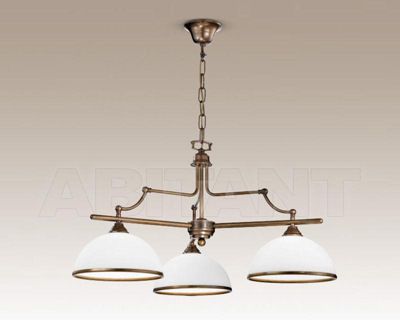 Купить Люстра Cremasco Illuminazione snc Vecchioveneto 0349/3S-BR-VE2-..