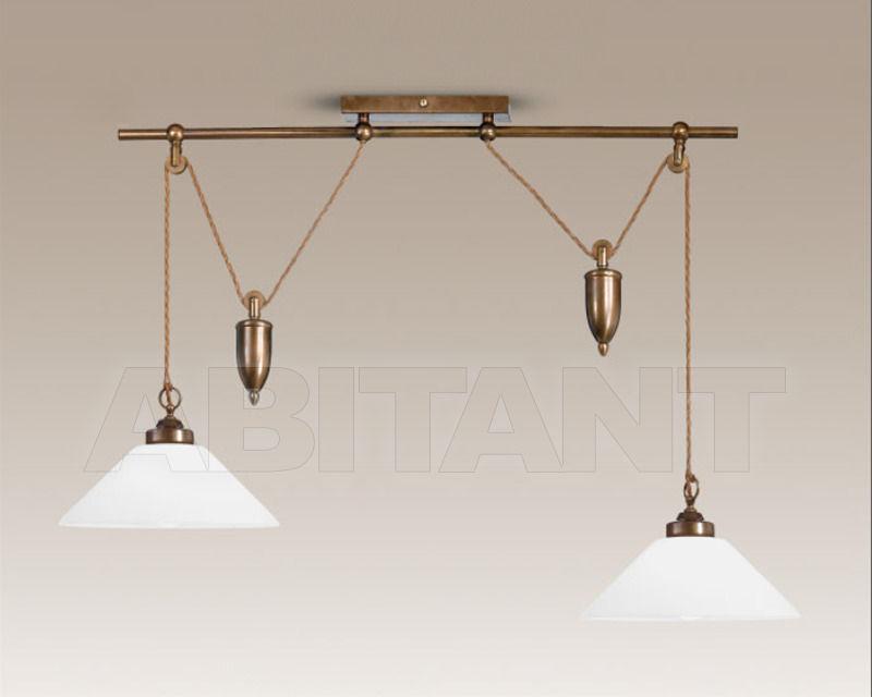 Купить Светильник Cremasco Illuminazione snc Vecchioveneto 0366/2S-BR-VE4