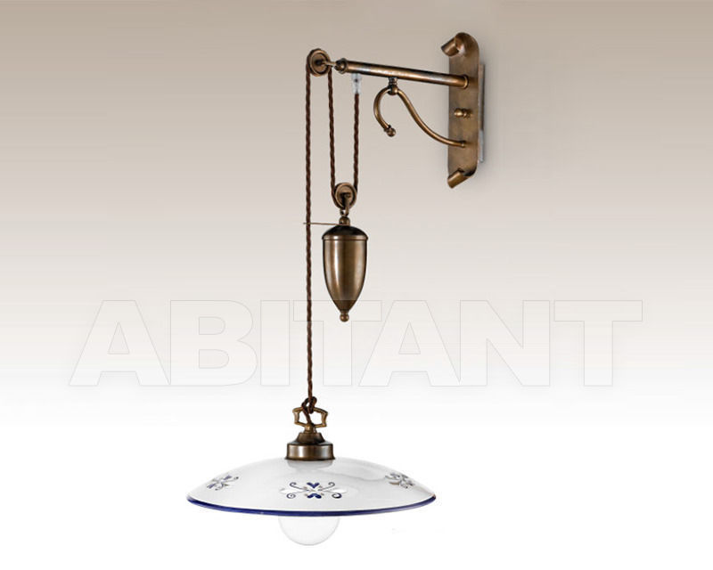 Купить Бра Cremasco Illuminazione snc Vecchioveneto 0382/1AP-BR-CE1-..