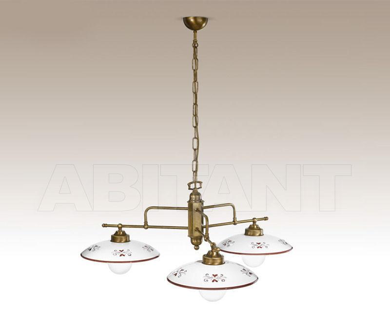 Купить Люстра Cremasco Illuminazione snc Vecchioveneto 0393/3S-BRSA-CE1-..