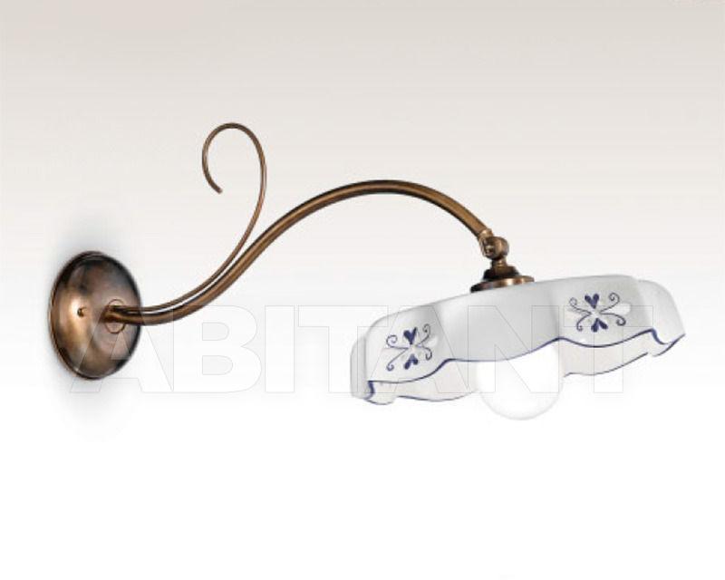 Купить Бра Cremasco Illuminazione snc Vecchioveneto 0412/1AP-GR-CE2-..