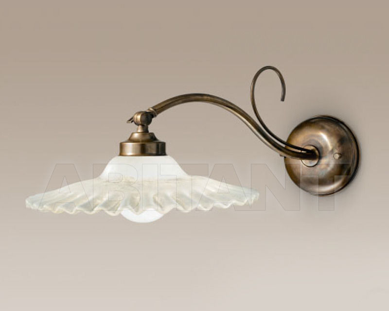 Купить Бра Cremasco Illuminazione snc Vecchioveneto 0412/1AP-GR-BR-CE1-VE