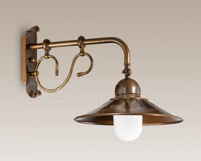Купить Бра Cremasco Illuminazione snc Vecchioveneto 0420/1AP-PC-BR-CON-..