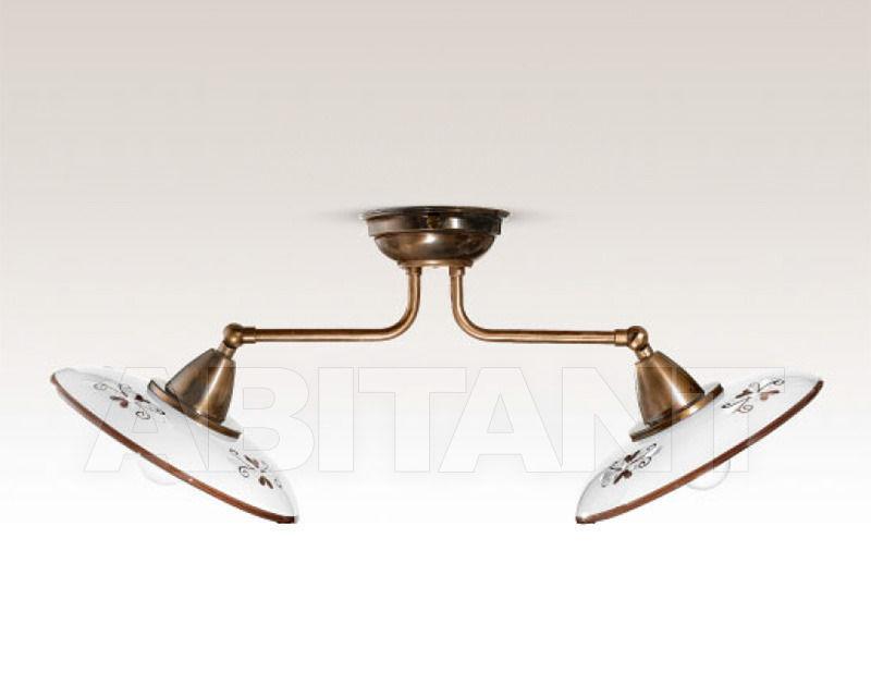 Купить Светильник Cremasco Illuminazione snc Vecchioveneto 0447/2PL-BR-CE1