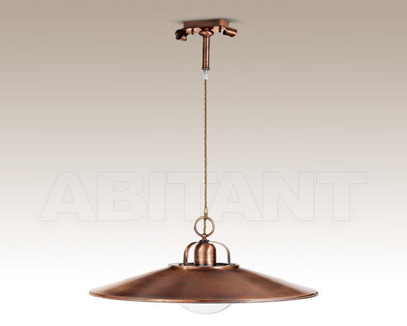 Купить Светильник Cremasco Illuminazione snc Vecchioveneto 0380/1S-BR-CON-45