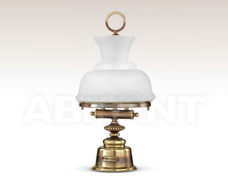 Купить Лампа настольная Cremasco Illuminazione snc Vecchioveneto 0481/2LA-BRSF