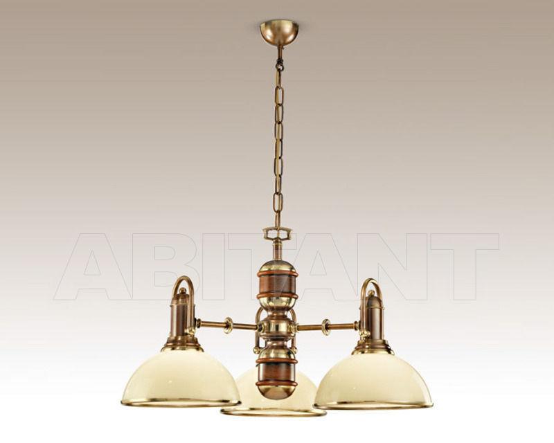 Купить Люстра Cremasco Illuminazione snc Vecchioveneto 0495/3S-BRSF-AV