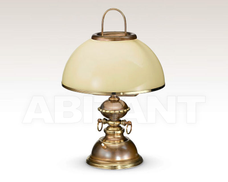 Купить Лампа настольная Cremasco Illuminazione snc Vecchioveneto 0497/1LA-BRSF-AV