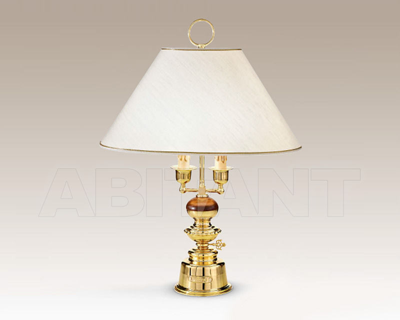 Купить Лампа настольная Cremasco Illuminazione snc Vecchioveneto 0526/2LA-BRSF