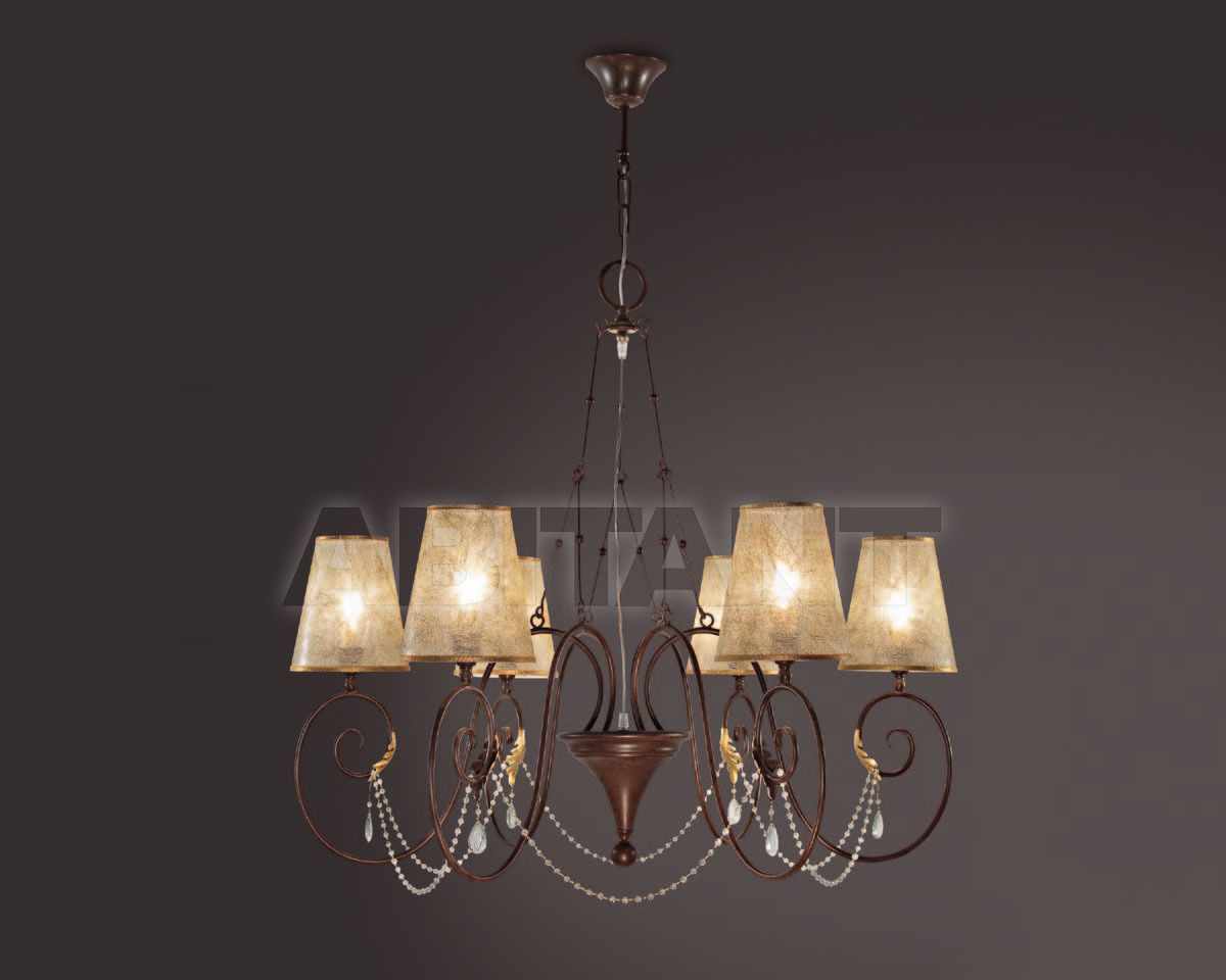 Купить Люстра Florenz Lamp di Bandini Arnaldo & C. s.n.c. La Luce 2717.06TE
