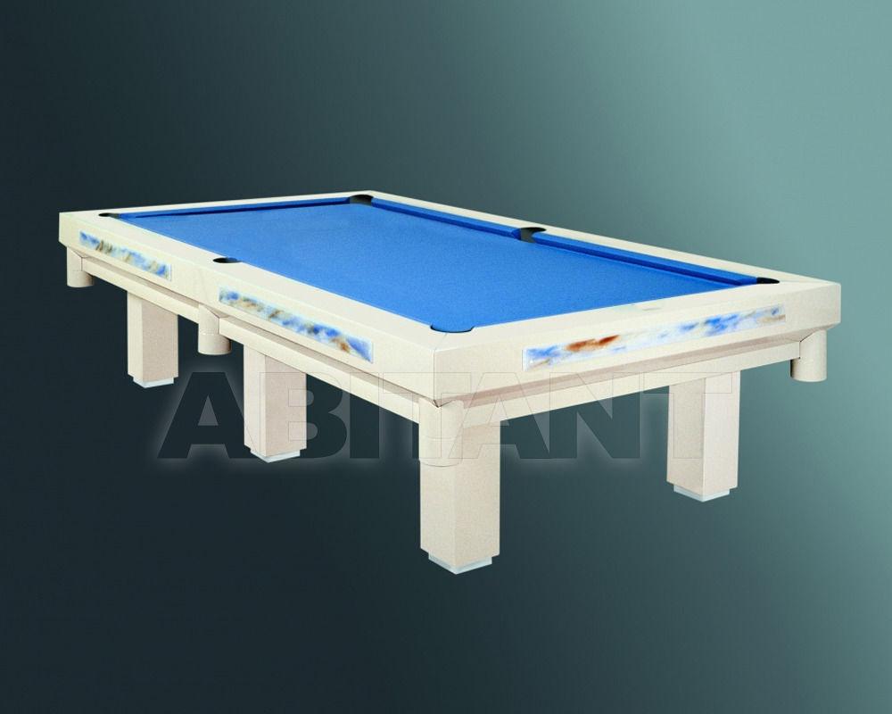 Купить Бильярдный стол Hermelin & Co. Srl. American Pool FENICE POOL +con inserti in VETRO+2