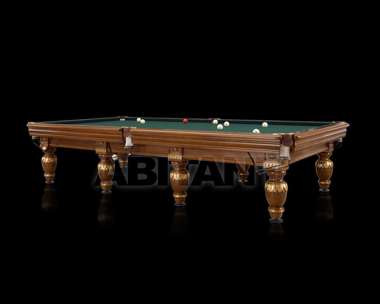 Купить Бильярдный стол Lu.Bo Biliardi Biliardi GAGGIOLO NOCE/ORO
