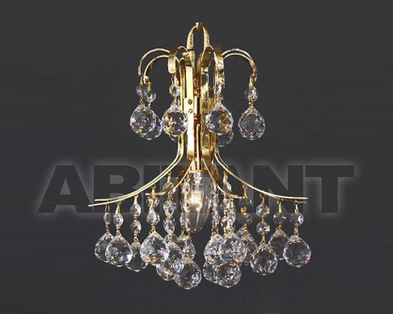 Купить Бра Asfour Crystal Crystal 2013 WL 1016/25/2 Gold Ball