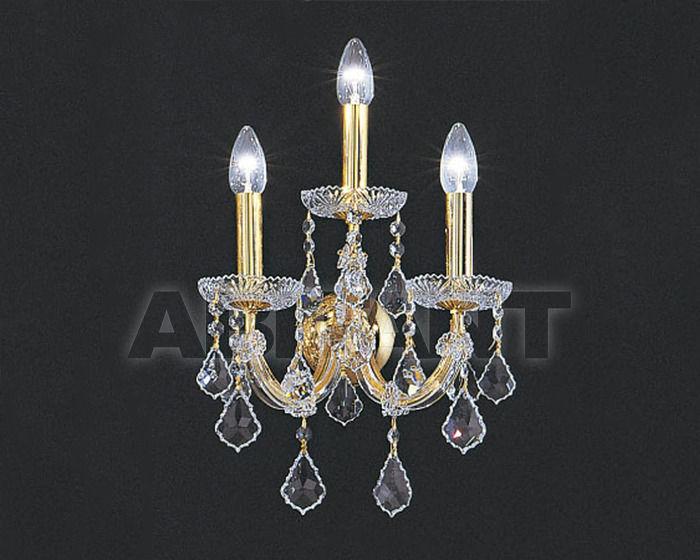 Купить Бра Asfour Crystal Crystal 2013 WL 3022/2 Gold