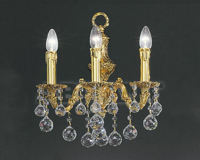 Купить Бра Asfour Crystal Crystal 2013 WL 34/1 Gold Patina BALL
