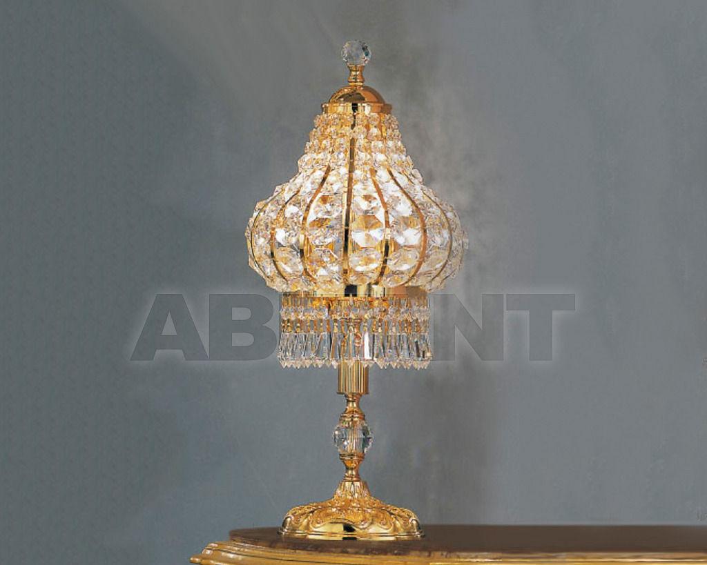 Купить Лампа настольная Asfour Crystal Crystal 2013 TL 4059/20/1 Gold Octagons