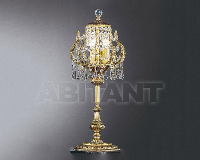 Купить Лампа настольная Asfour Crystal Crystal 2013 TL 926/3 Gold Patina . Octagons