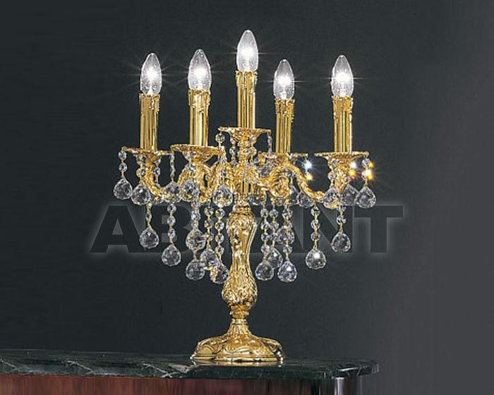 Купить Лампа настольная Asfour Crystal Crystal 2013 CL 69/3+1 Gold Ball