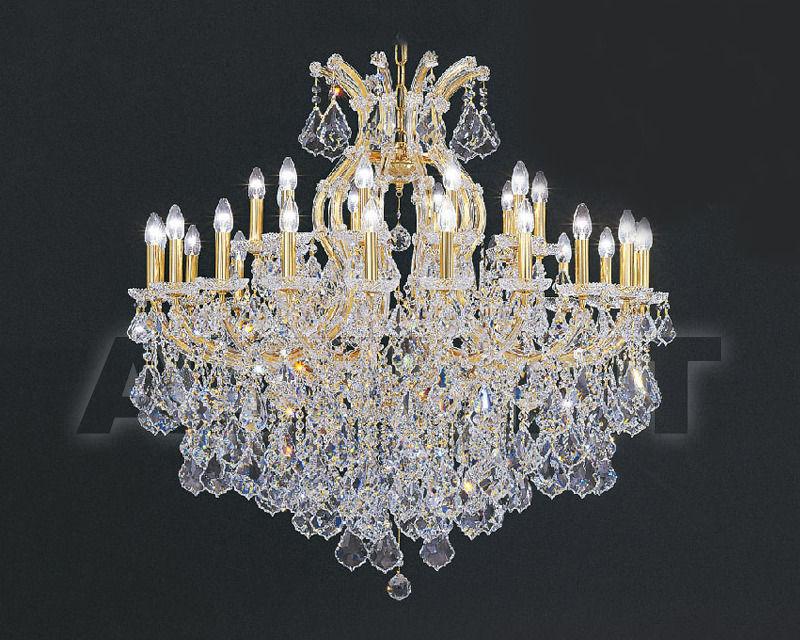 Купить Люстра Asfour Crystal Crystal 2013 CH 1503/30+1 Gold