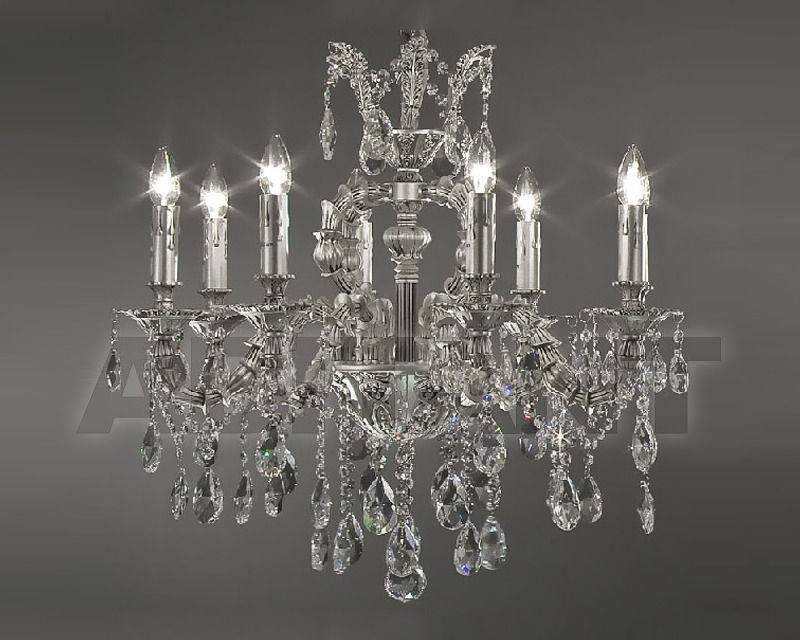 Купить Люстра Asfour Crystal Crystal 2013 CH 15057/8 Chrome Antiuce Pear