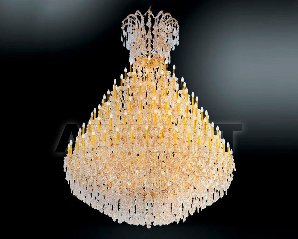 Купить Люстра Asfour Crystal Crystal 2013 CH 1579/152+24 Gold
