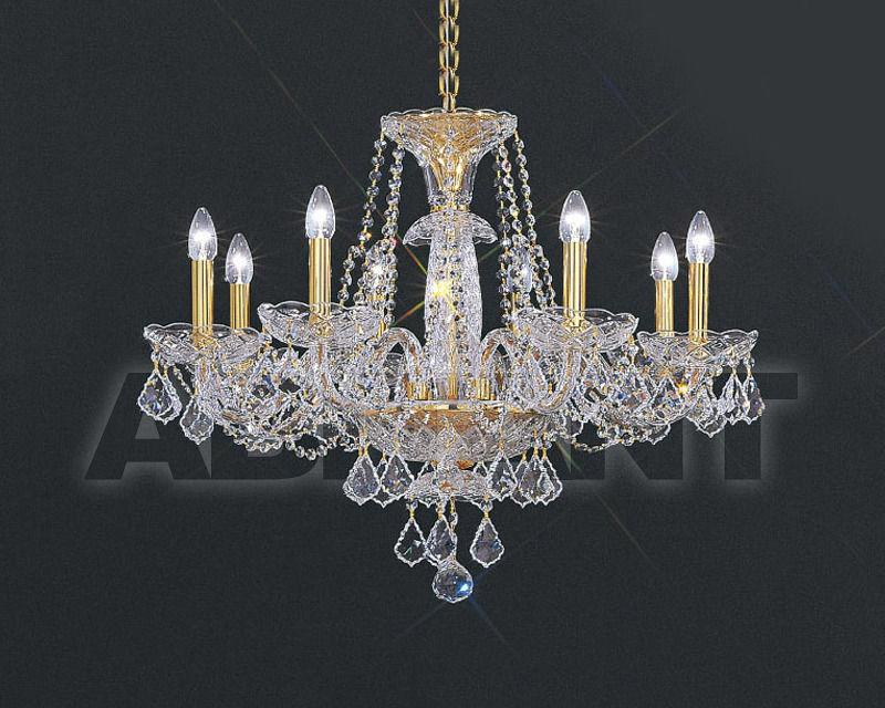 Купить Люстра Asfour Crystal Crystal 2013 CH 185/10 Gold PEND