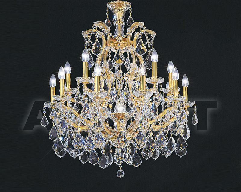 Купить Люстра Asfour Crystal Crystal 2013 CH 22/15+1 GOLD