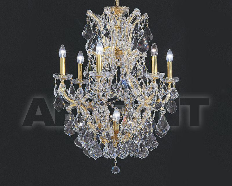 Купить Люстра Asfour Crystal Crystal 2013 CH 23/6+1 Gold