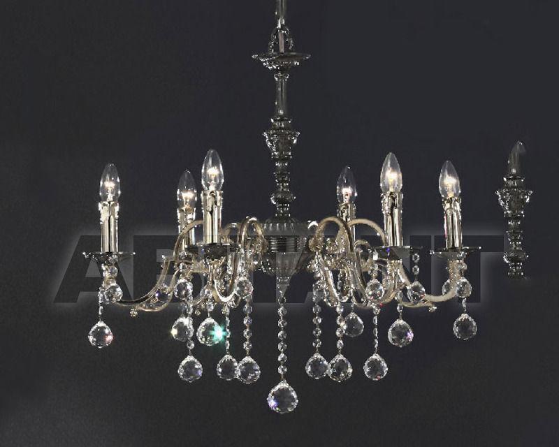 Купить Люстра Asfour Crystal Crystal 2013 CH 23070/G/6 SATIN