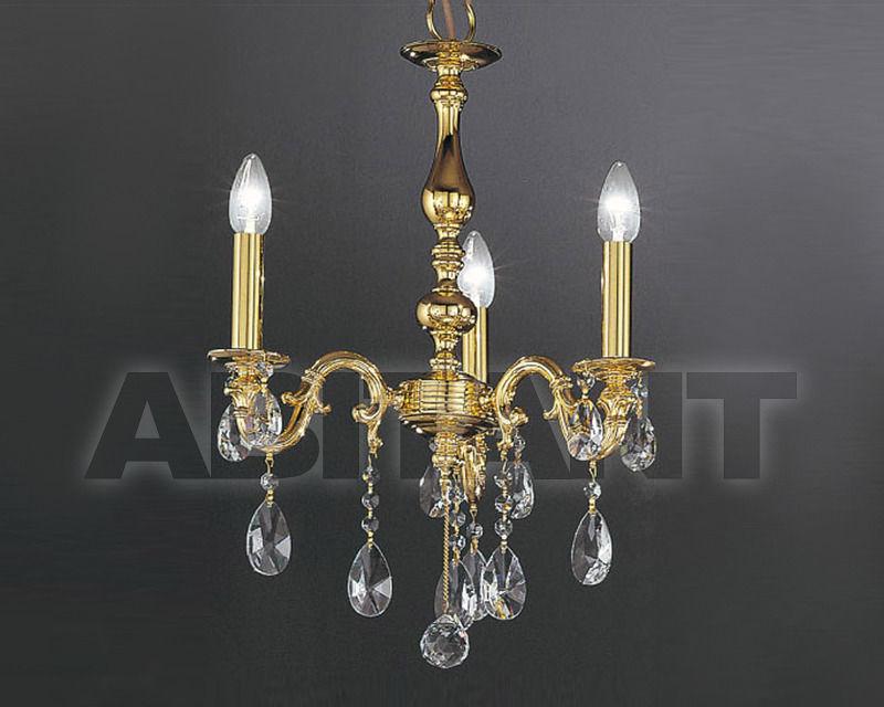 Купить Люстра Asfour Crystal Crystal 2013 CH 25010/3 Gold PEAR