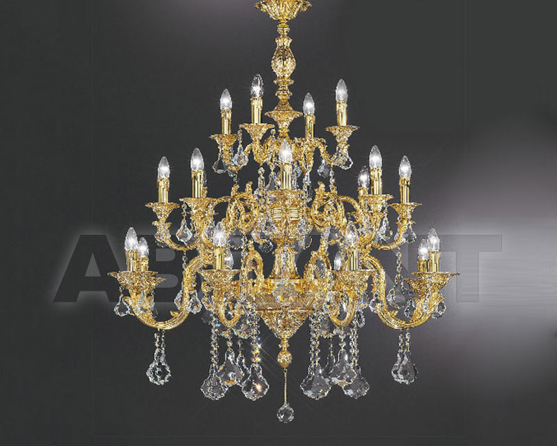 Купить Люстра Asfour Crystal Crystal 2013 CH 25017/20 GOLD PEND