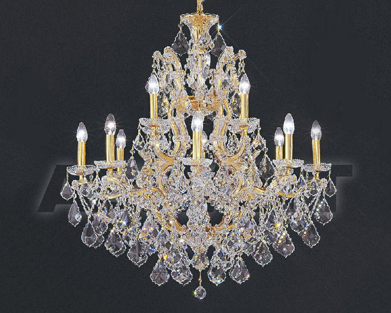Купить Люстра Asfour Crystal Crystal 2013 CH 26/12+1 Gold