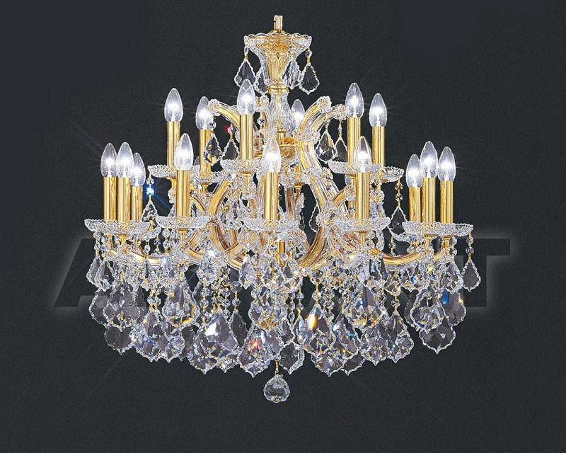 Купить Люстра Asfour Crystal Crystal 2013 CH 3013/18+1 GOLD