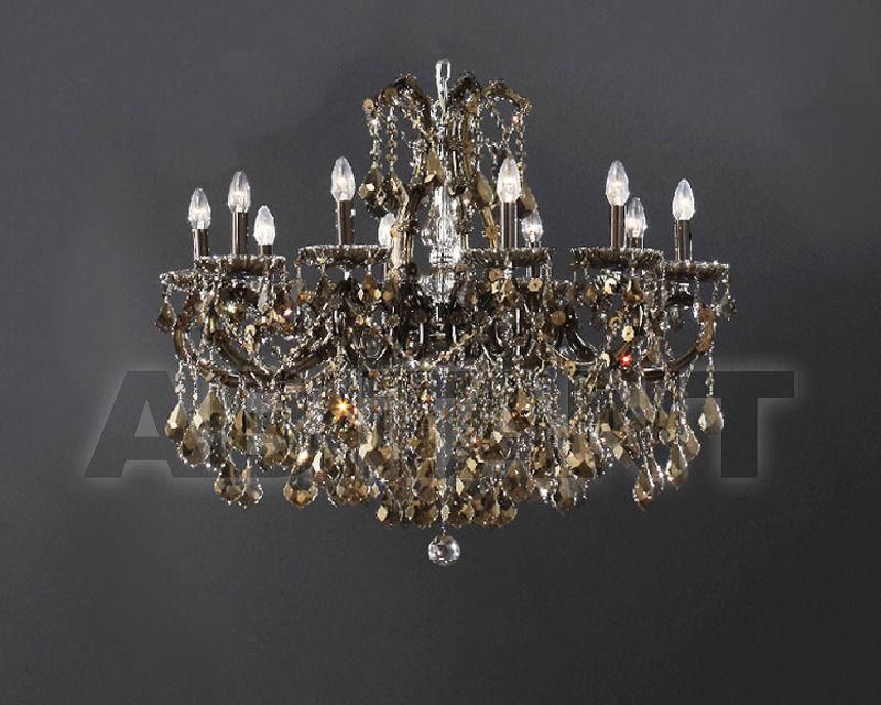 Купить Люстра Asfour Crystal Crystal 2013 CH 35/10+1 CHROME HONEY PEND
