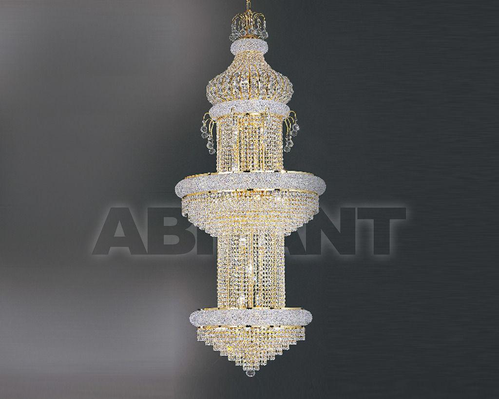Купить Люстра Asfour Crystal Crystal 2013 CH 4202/50*30/250 Gold Pend*Octagons