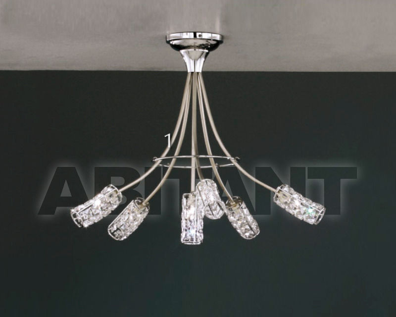 Купить Люстра Asfour Crystal Crystal 2013 CH 4465/6 AS CHROME wihtout bulbs