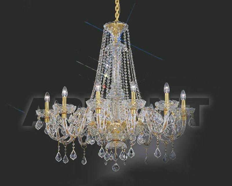 Купить Люстра Asfour Crystal Crystal 2013 CH 506 / 20 EVIL ''Pend Gold''