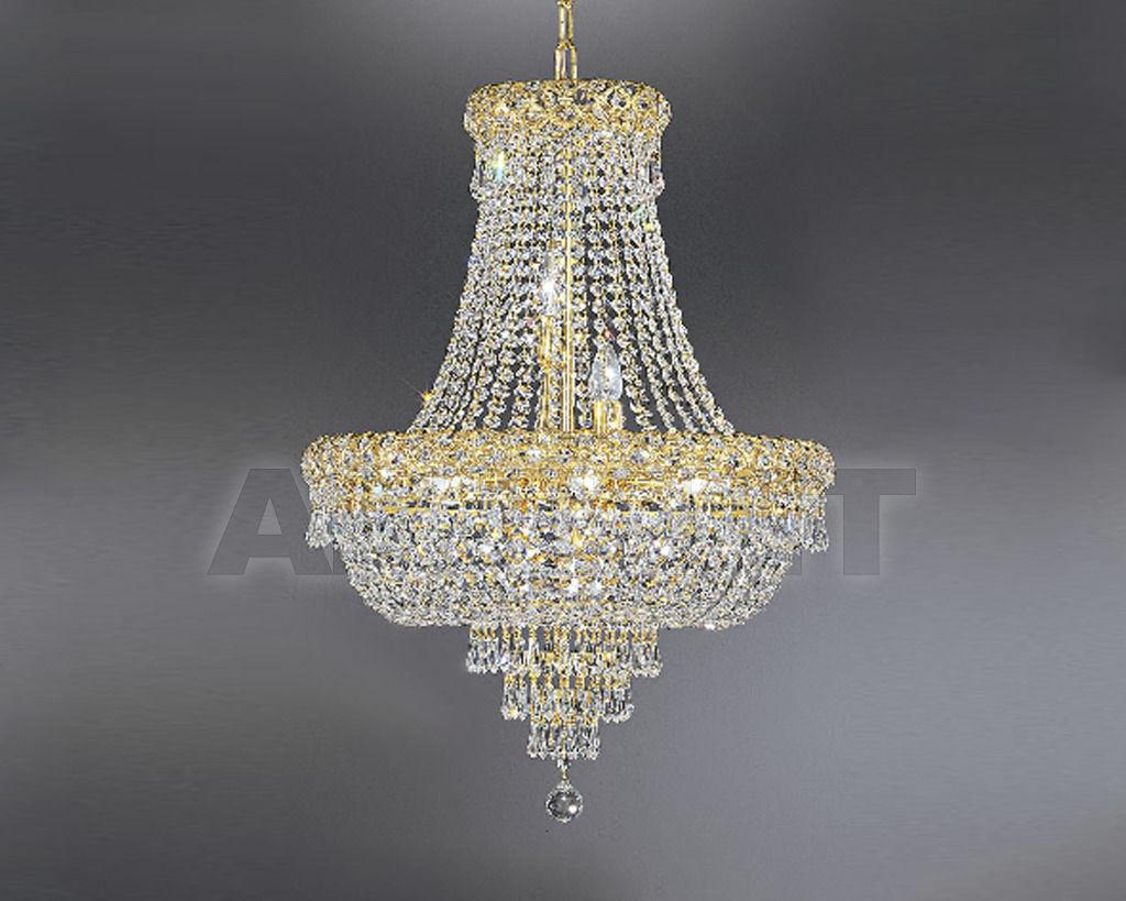 Купить Люстра Asfour Crystal Crystal 2013 CH 5167/100/33 Octagons Gold