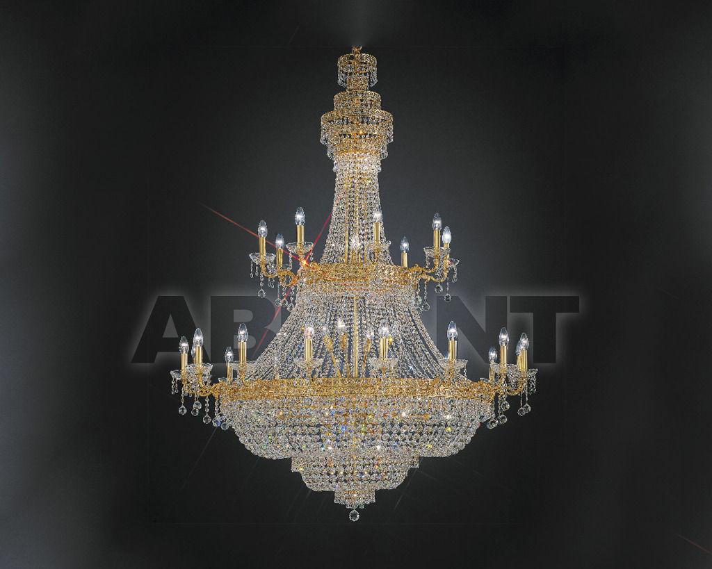 Купить Люстра Asfour Crystal Crystal 2013 CH 67612/95/30 Gold Octagons