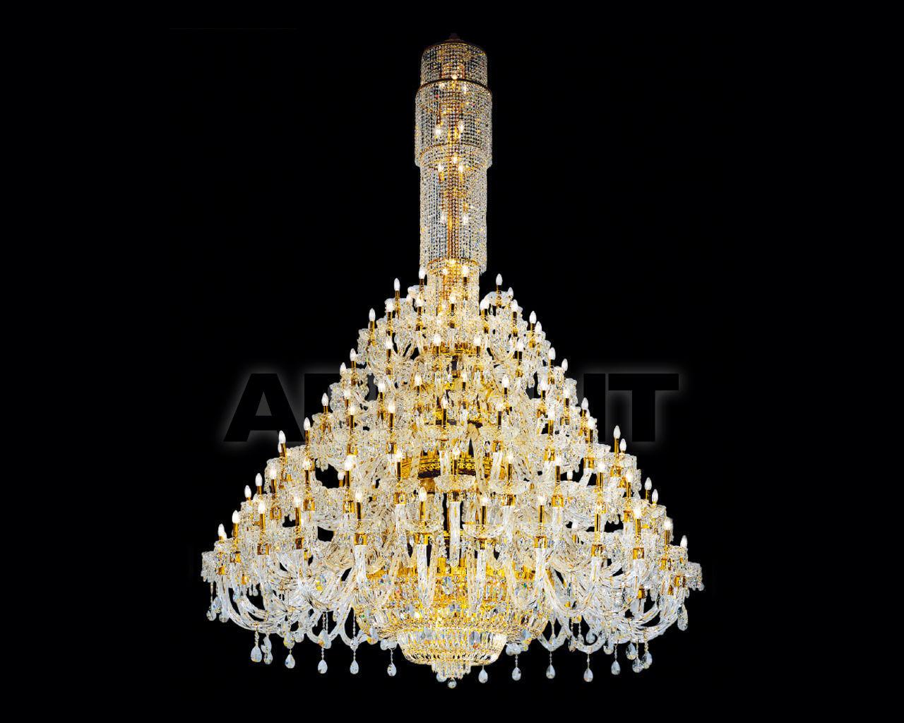 Купить Люстра Asfour Crystal Crystal 2013 CH 77/134 Gold Pear