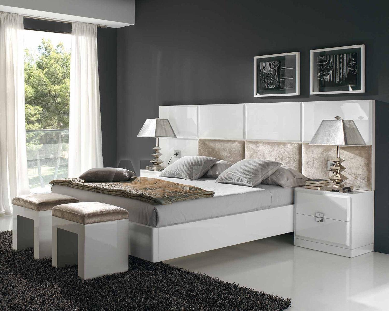 Купить Кровать ATENEA Cubilles Logica  Bedroomsoulhome CABEZAL + SOMIER DE 180x190/200