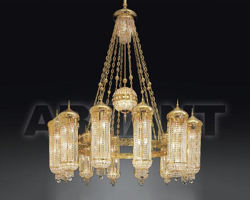 Купить Люстра Asfour Crystal Crystal 2013 CH 952/200/64 Gold. Octagons
