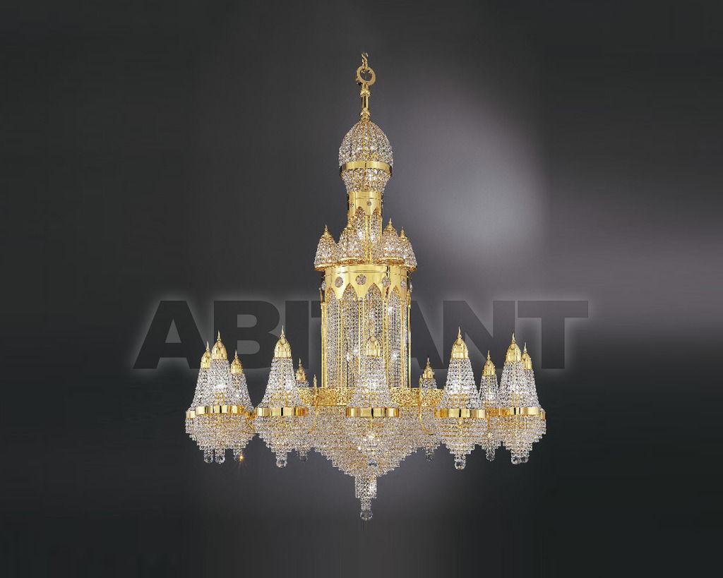 Купить Люстра Asfour Crystal Crystal 2013 CH 957/180/12 Gold . Octagons