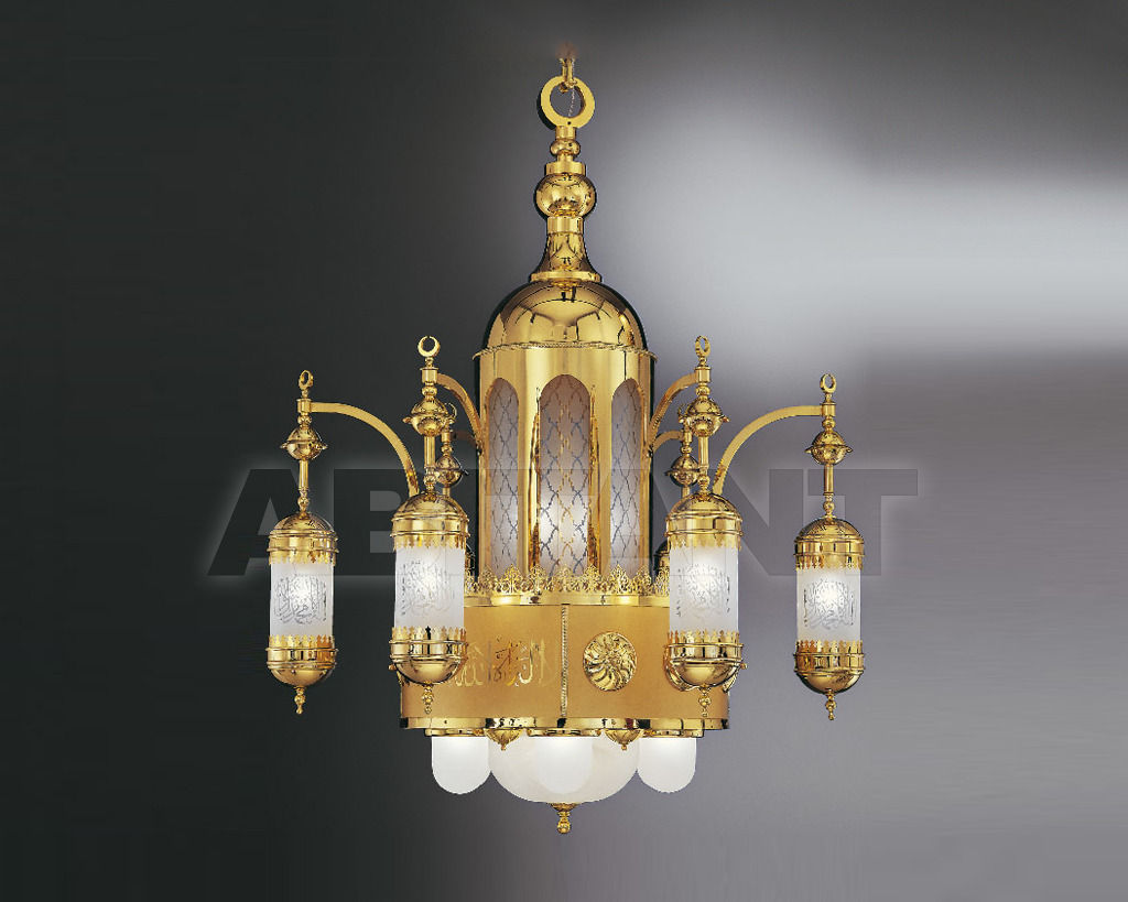 Купить Люстра Asfour Crystal Crystal 2013 CH. S. ZEINAB 1.2 M  GLASS ADORNED wihtout bulbs