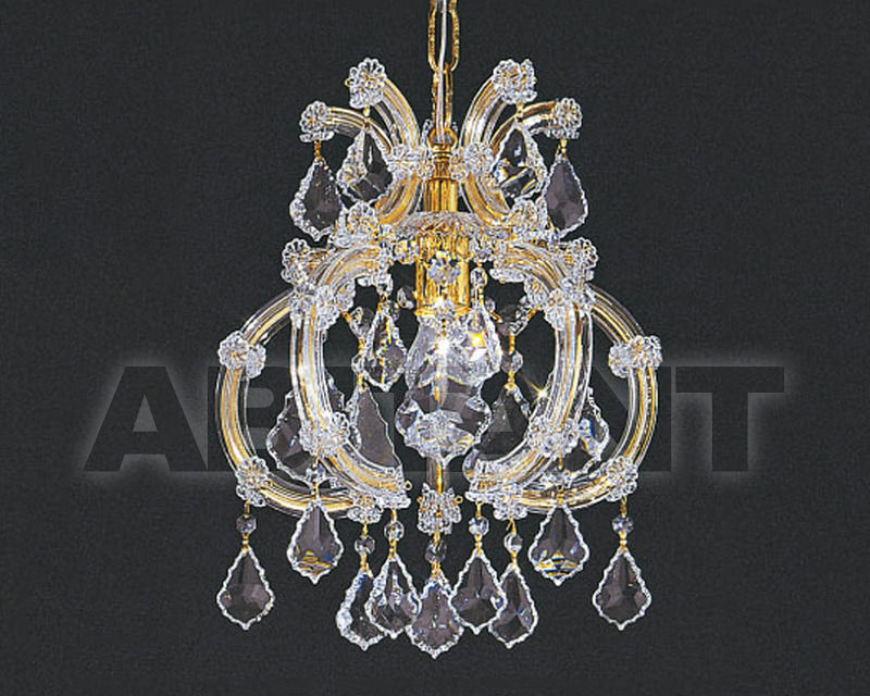 Купить Люстра Asfour Crystal Crystal 2013 LN 3018/1 GOLD
