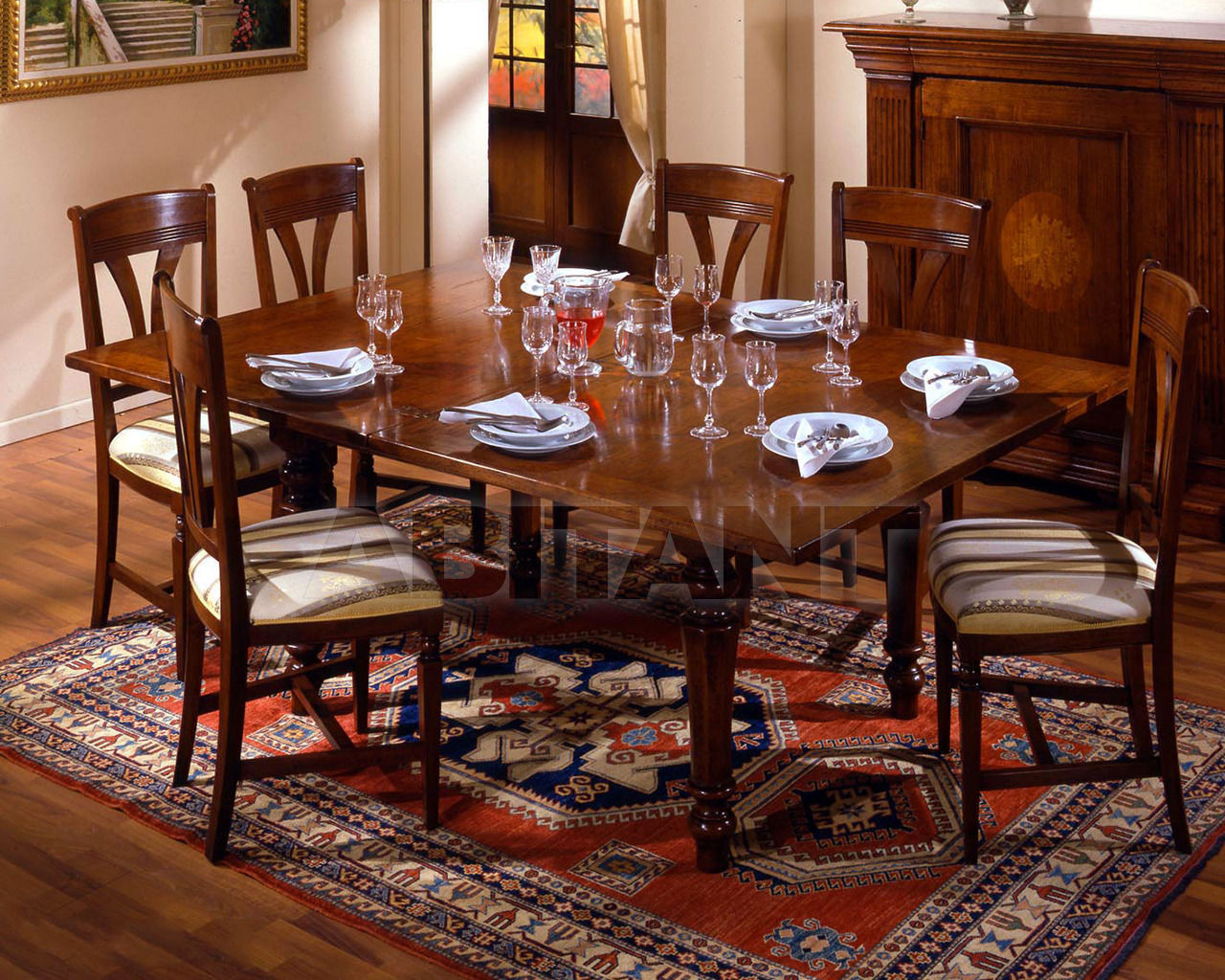 Купить Стол обеденный Arredogi Classic 150 A B