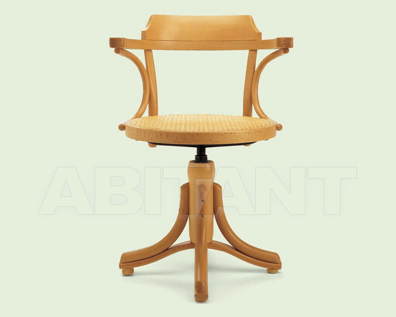 Купить Стул с подлокотниками Italcomma Complementi D'arredo S.R.L  Heritage B5503 Faggio naturale 030 /  Natural beechwood 030