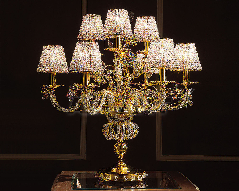 Купить Лампа настольная Non Solo Luce Crystals LUCY TL-09 G